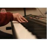 Aula de teclado ritmos preços na Casa Verde