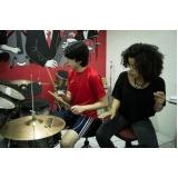 Aula de bateria em Santana