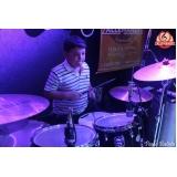 Aulas de bateria na Vila Guilherme