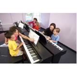 Aula de piano em SP