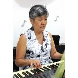 aulas de piano para crianças 7 anos Vila Maria