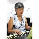 aulas de piano para crianças 7 anos Vila Medeiros