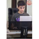 Aulas de teclado na Vila Maria