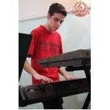 Aulas de teclado preços na Vila Gustavo