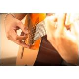 Aula de violão valor