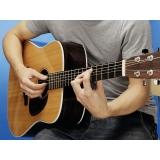 Quanto custa aula de violão