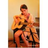 Curso de violão na Casa Verde
