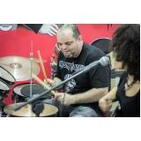 Escola de Aula de bateria na Vila Guilherme