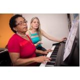 Escola de Aula de piano em Brasilândia