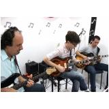 Escola de guitarra na Lauzane Paulista