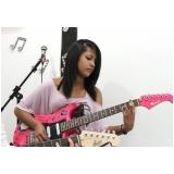 Escola de guitarra onde achar em Brasilândia