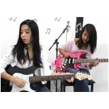 Escola de guitarra onde tem no Mandaqui