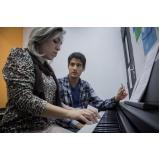escola de piano com coral infantil Jardim São Paulo