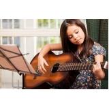 escola de violão para crianças pequenas Santana