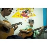 escola de violão para crianças Santana
