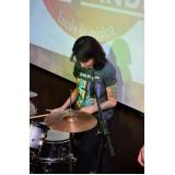 Escola para aula de bateria na Vila Medeiros
