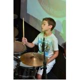 Escola para aula de bateria onde achar em Cachoeirinha