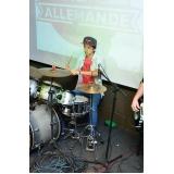 Escola para aula de bateria onde encontrar em Santana