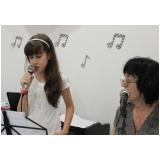 Escola para aula de canto onde achar na Vila Guilherme