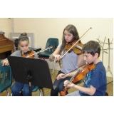 Escola para aula de música na Casa Verde