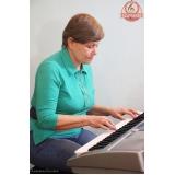 Escola para aula de teclado onde localizar em Santana