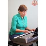 Escola para aula de teclado onde tem na Casa Verde