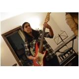 Escola para aula guitarra na Vila Gustavo