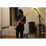 Escola para aula guitarra onde achar na Vila Medeiros