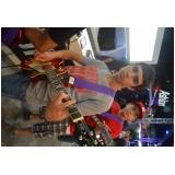 Escola para aula guitarra onde tem na Casa Verde