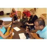 Escola particular para aula de música na Casa Verde