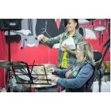 Escolas de Aula de bateria na Vila Guilherme