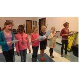 escolas de canto infantil preço Santana