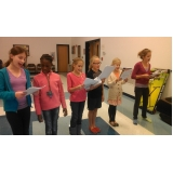 escolas de canto infantil preço Tremembé