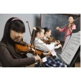 Escola de música em SP