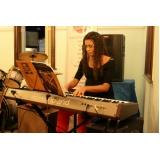 Onde achar Aula de teclado musical no Tremembé