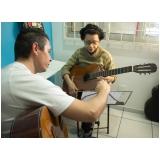 Onde achar Aula de violão  no Tucuruvi