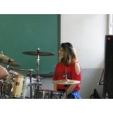 Onde achar Curso de bateria em Santana