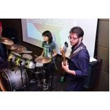 Onde achar Escola para aula de bateria no Jardim São Paulo