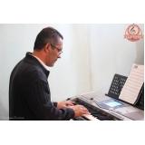 Onde achar Escola para aula de teclado no Mandaqui