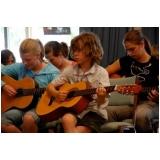 Onde achar Escola particular para aula de música no Tremembé