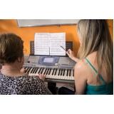 Onde achar uma Aula de piano no Tremembé