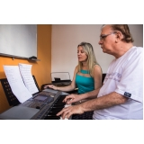 Onde achar uma Aula de teclado avançado na Casa Verde