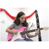 Onde achar uma Escola de guitarra na Vila Medeiros