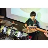 Onde achar uma Escola para aula de bateria na Vila Medeiros