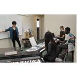 Onde encontrar Aula de piano clássico em Santana