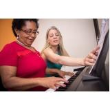 Onde encontrar Aula de teclado avançado na Vila Gustavo