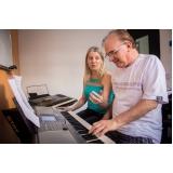 Onde encontrar uma Aula de piano em Santana