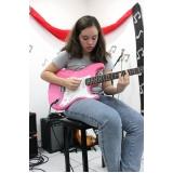 Onde encontrar uma Escola de guitarra em Brasilândia