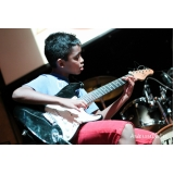 Onde encontrar uma Escola para dar Aula de guitarra profissional em Brasilândia
