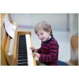 onde encontro escola de piano para crianças pequenas Vila Gustavo